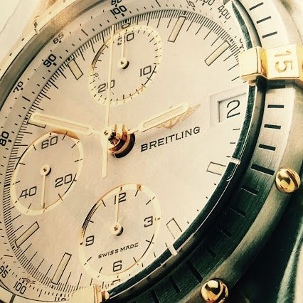 #Breitling ad from the early 90s, but can you name the model? #watch #designer #fashion #retro #advertising