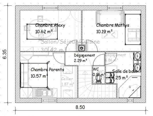 Plan Maison R House Plan Gallery Architectural House Plans Modern House Facades
