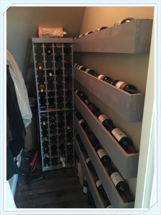 Get creative with your wine storage with the help of our Traditional Series wine racks kit!