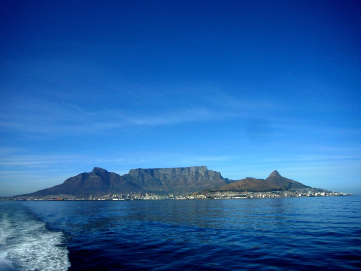 Gorgeous photo of the coast of Cape Town #travel #getaway #africa