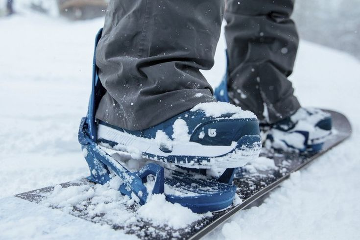 New Burton binding makes stepping on snowboard a snap