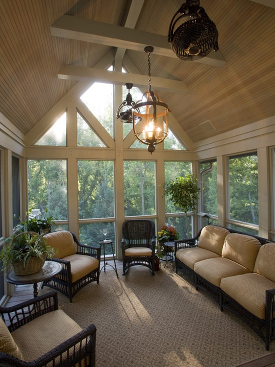 @Christine Smythe Naessens    Spaces Screened In Porches Design, Pictures, Remodel, Decor and Ideas - page 28