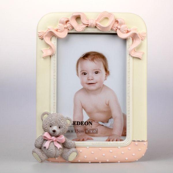 Gipsowa ramka dziecięca na zdjęcie 10x15