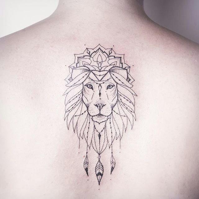 Lion King Tattoo #tattoo_oberschenkel_tiger