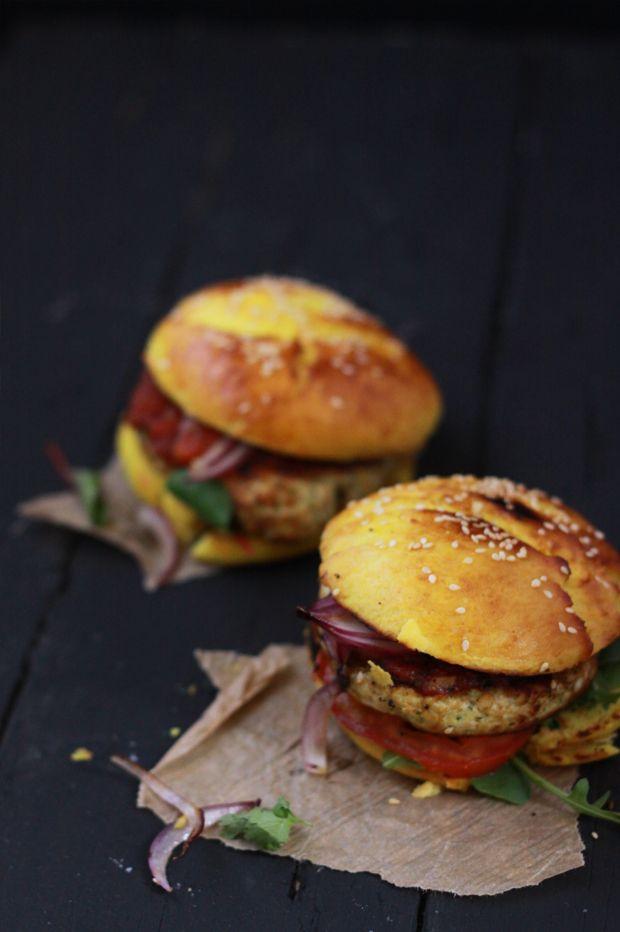Indian Burger3 INDIAN BURGER ET AUTRES CONSIDÉRATIONS - Fraise-Basilic