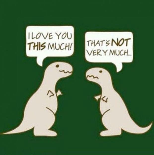 T-Rex funny cartoon | Giggles | Pinterest