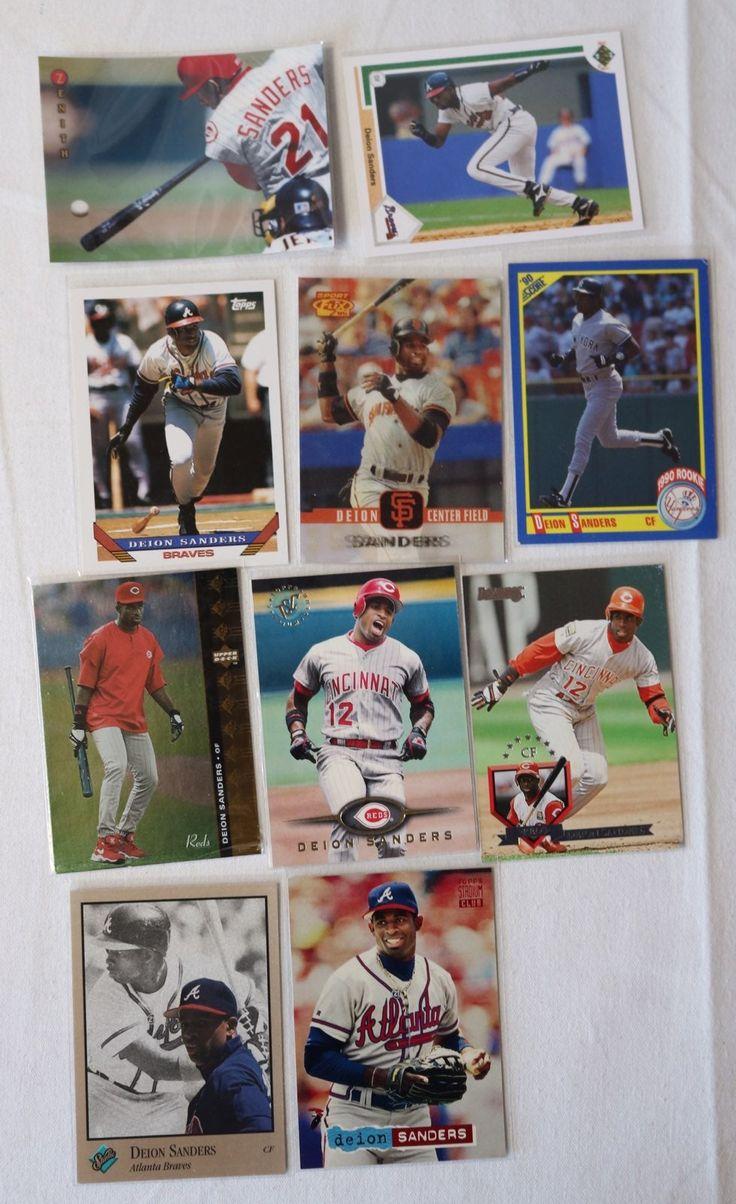 Park Art My WordPress Blog_Deion Sanders Rookie Baseball Card Worth