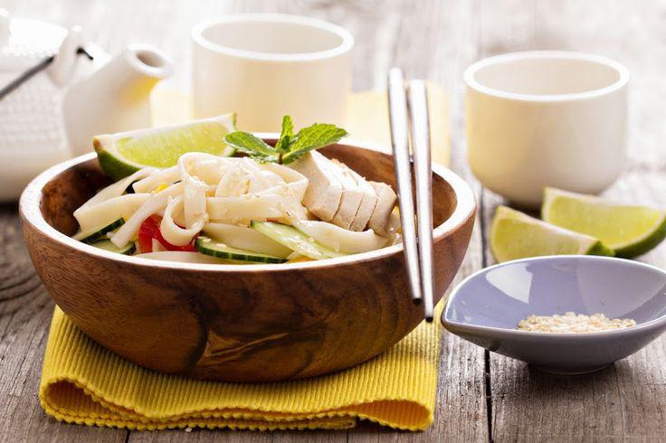 Холодный салат с пастой в азиатском стиле для макаронного раунда в сообществе gotovim_vmeste2. Ингредиенты - 250 гр длинных макарон (у меня удон для сохранения азиатского…