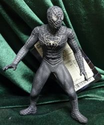 バンダイ ソフビ魂 スパイダーマン3 ブラックスパイダーマン/SPIDER-MAN3/ソフビ魂