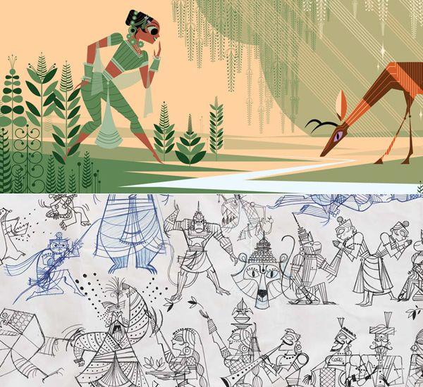 Sanjay Patel's Ramayana: Divine Loophole | Love Made Visible