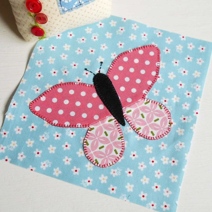 Put your scraps to good use with the Patchsmith's Butterfly block.