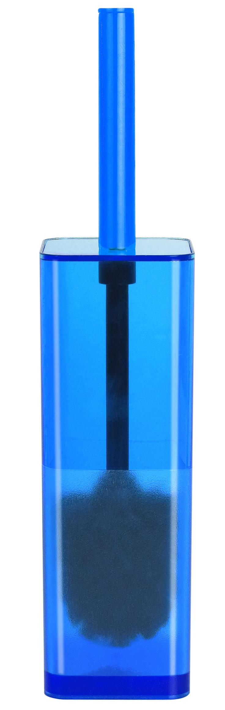 #Spirella Blue Cubo Toilet Brush. #bathroom #blue