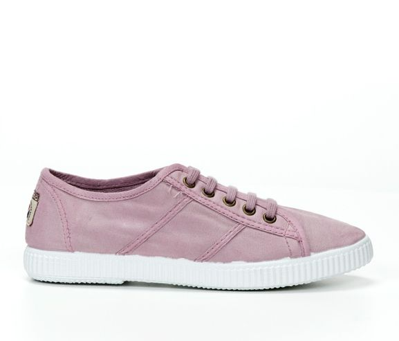 VICTORIA - Women's canvass sneakers. Made in Spain.