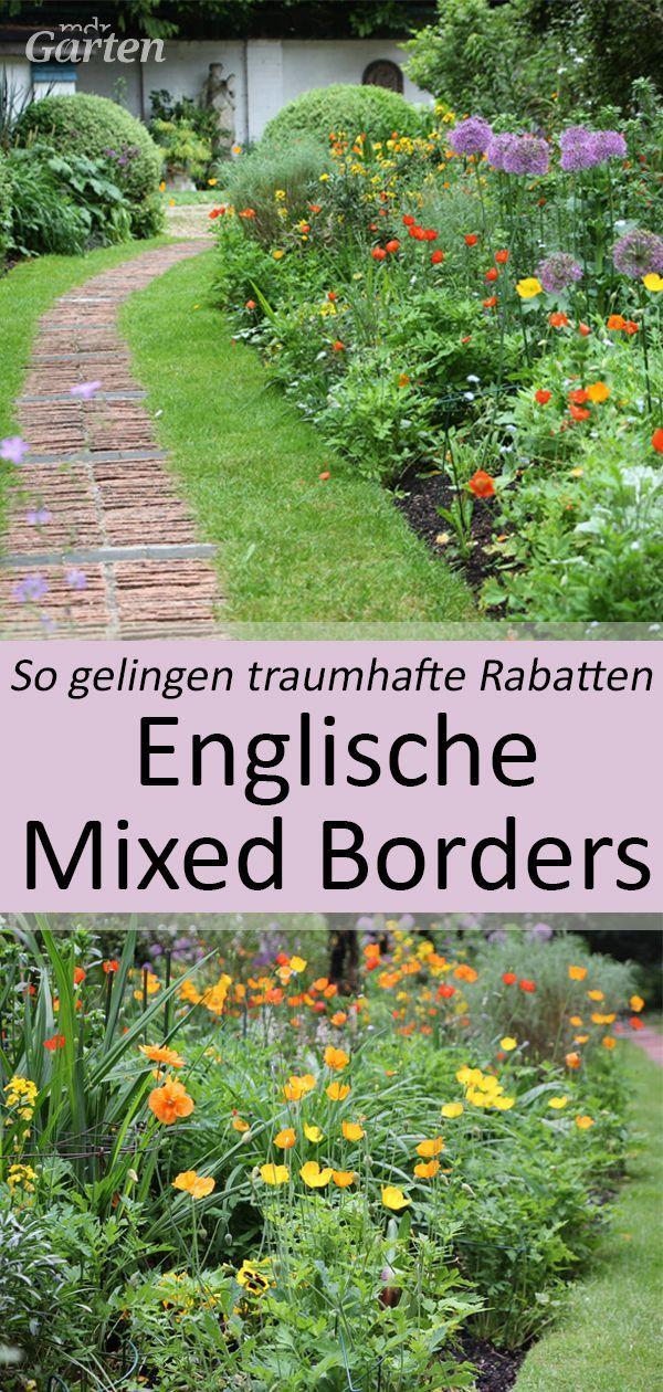 Mixed Borders Planen Und Anlegen Naturnaher Garten Garten Cottage Garten