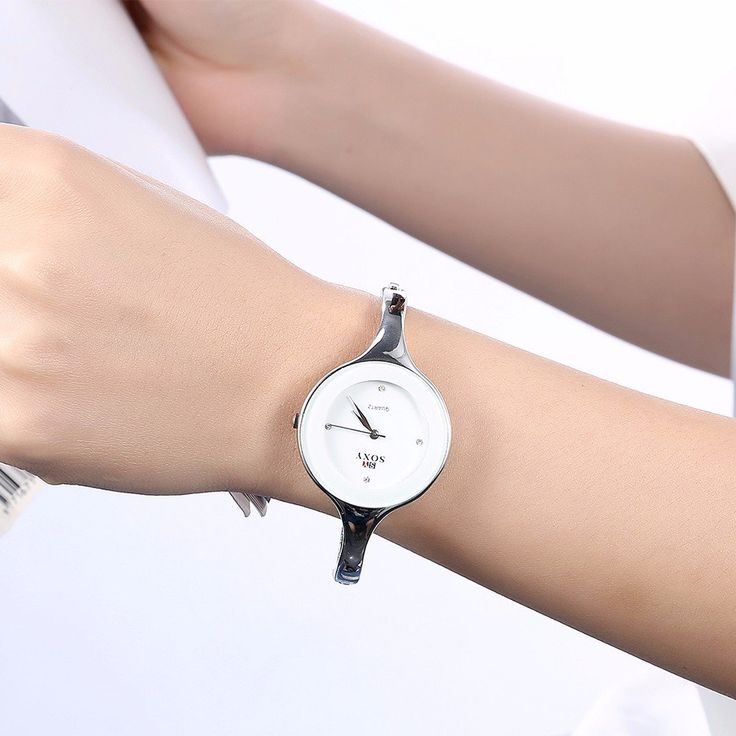 SOXY Women Watch Simple Alloy Luxury Sports Casual Quartz Watch Bangle Watches for Women online - NewChic