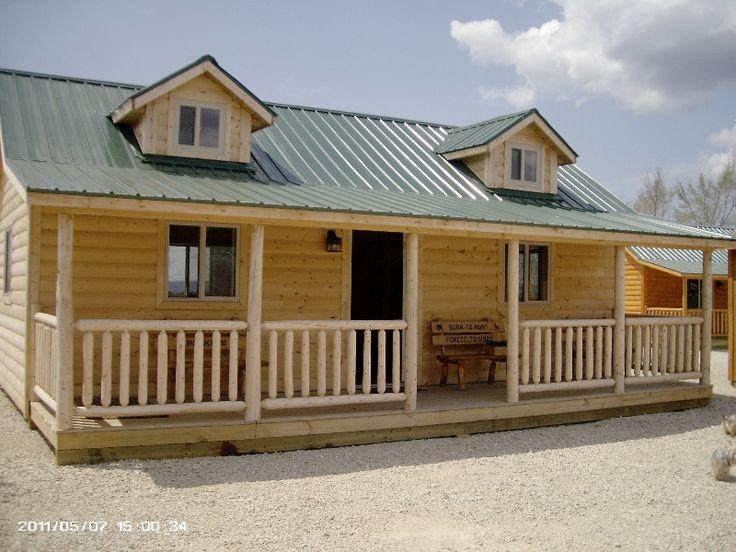 Wildcat Barns' Log Cabins, RENT TO OWN, Custom Built Log