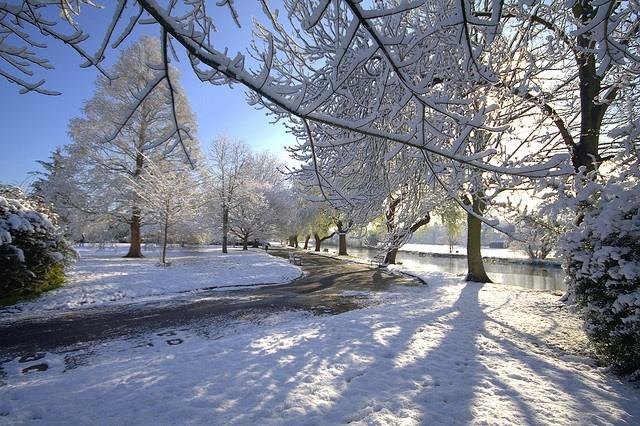 Snow at St Nicholas Park, Warwick | Flickr - Photo Sharing!
