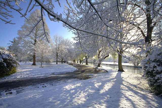 Snow at St Nicholas Park, Warwick | Flickr - Photo Sharing!