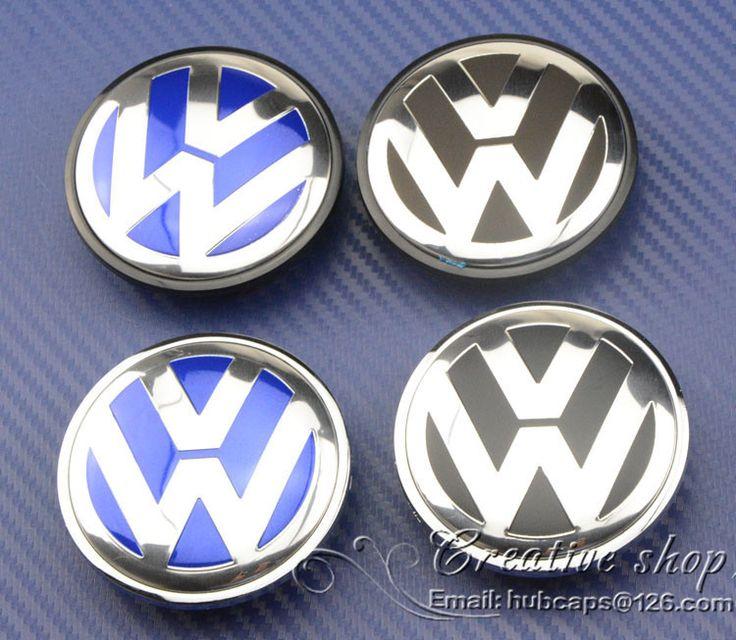 Find More Stickers Information about Baru pengiriman gratis 4pcs 65 mm VW pusat roda penutup topi wheel hub cap Volkswagen  EOS Golf Jetta Mk5 Passat B6 3B7 601 171,High Quality Stickers from wheel hub cap  on Aliexpress.com