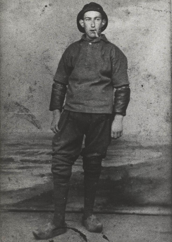 Visser uit Vlaardingen, ca 1890 #ZuidHolland #Vlaardingen