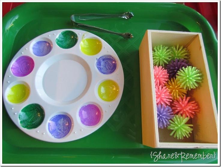 Spring Color Spiky Ball Sort