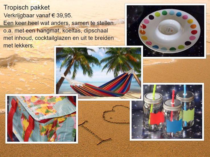 Tropisch pakket - prijzen vanaf € 39,95 - € 19.95