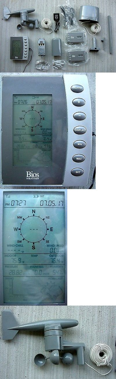 Weather Meters: Bios Bw972 Home Weather Station - Temperature, Rainfall, Wind Speed And Direction -> BUY IT NOW ONLY: $37.95 on eBay!