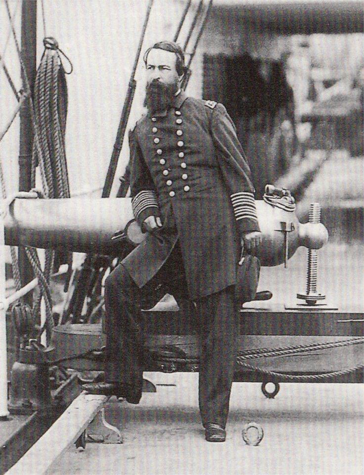 DAVID DIXON PORTER Civil War Union U.S. Navy Photo