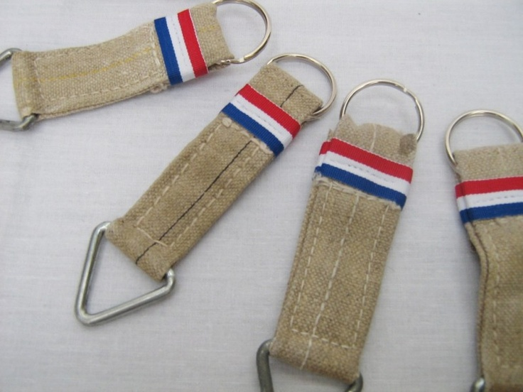 Inspiration: Dutch PTT postmag bag key ring.