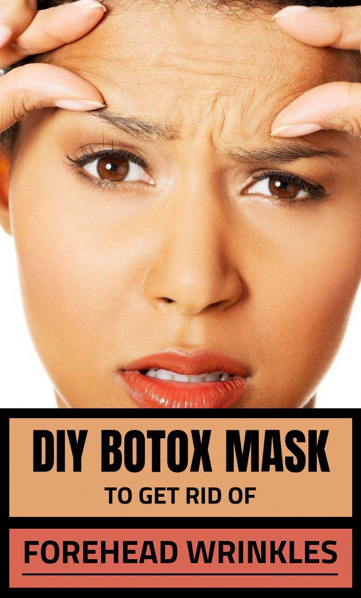 Diy Botox Mask To Get Rid Of Forehead Wrinkles wrinkles