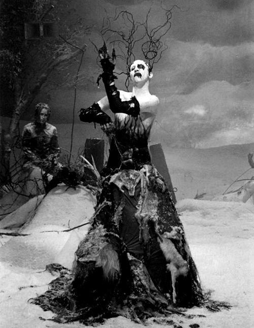"Marilyn Manson in ""The Nobodies""."