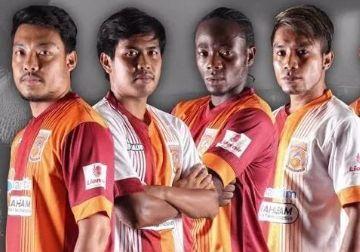 Pusamania Borneo FC 2015 Salvo Home and Away Kits
