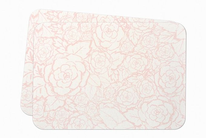 Soft Floral notecards by Happiness is...