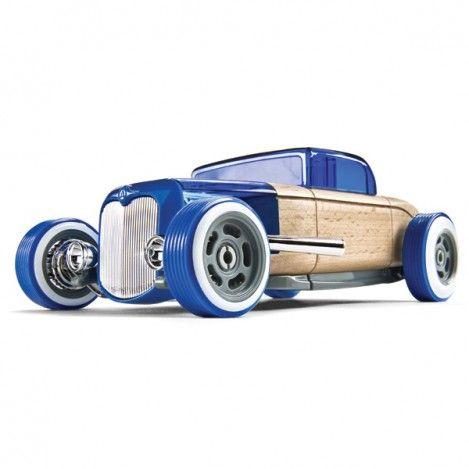 Automoblox Hot Rod Blue HR3 Coupe