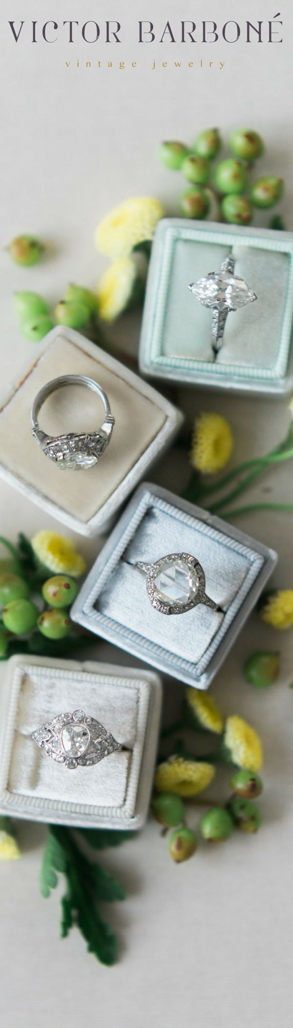 Vintage Engagement Rings make the BEST engagement rings!