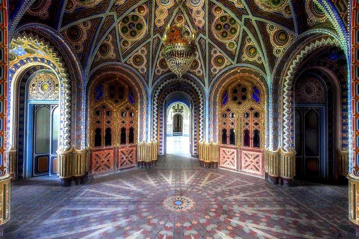 Castello di Sammezzano - Sala dei Piatti Spagnoli