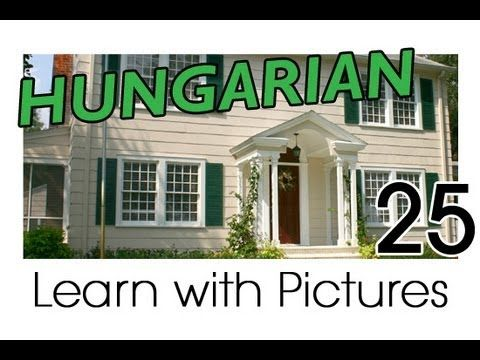 Learn Hungarian Vocabulary with Pictures - In the Home
