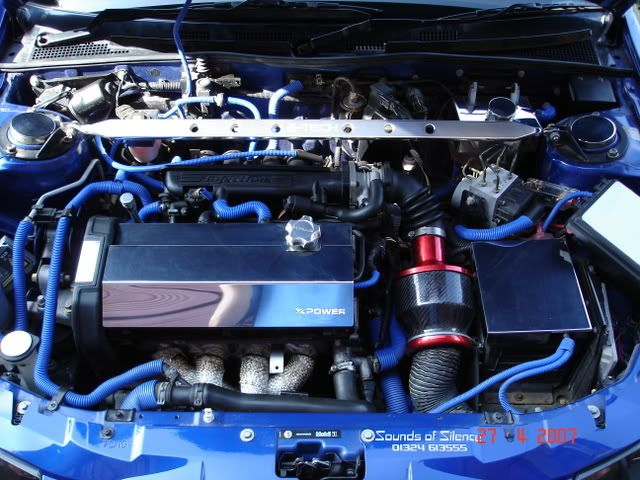 sweet engine bay! + pipercross viper induction kit, want!
