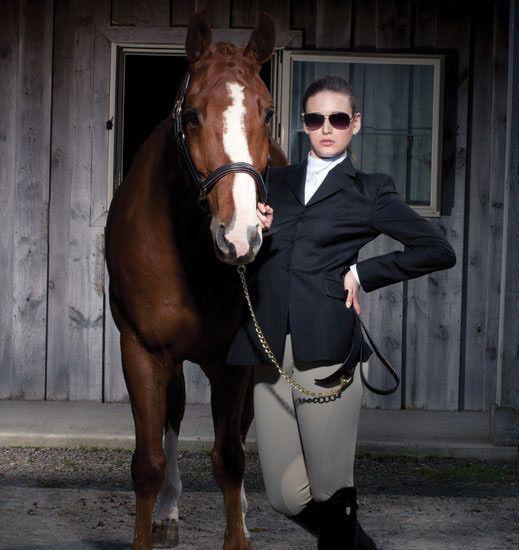 Equestrian Brands International ™ - ELATION PLATINUM SIDE ZIP BREECH