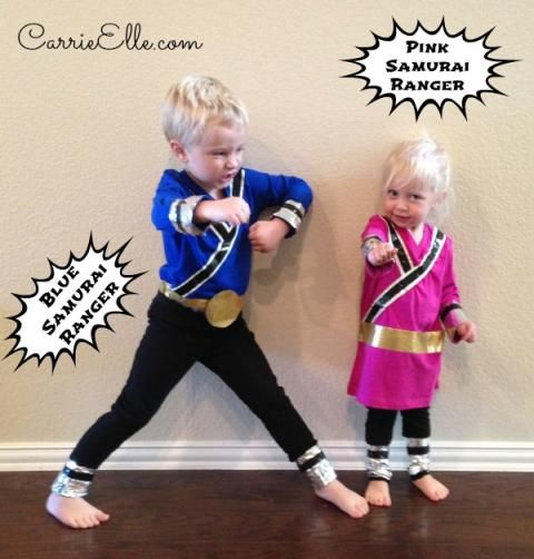 DIY Power Rangers Costumes