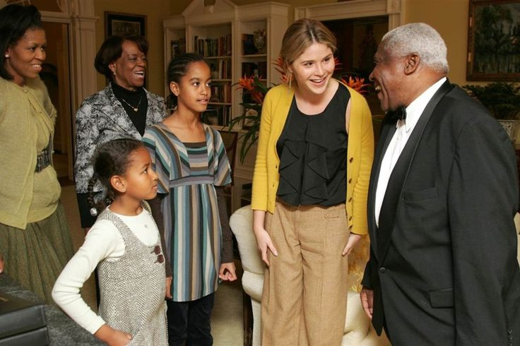 Jenna Bush Hager Shared Some Photos Of The Obama Girls' First White House Visit