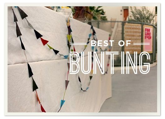 Best of Creative Bunting