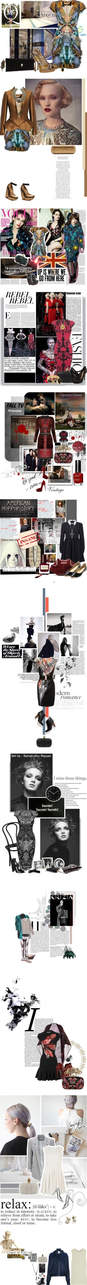 """""""Sarah Burton for Alexander McQueen"""" by polyvore-editorial ❤ liked on Polyvore"""