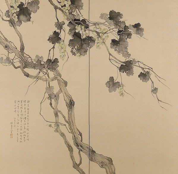 B-sides: MATSUBAYASHI Keigetsu(松林桂月 Japanese, 1876-1963) ...