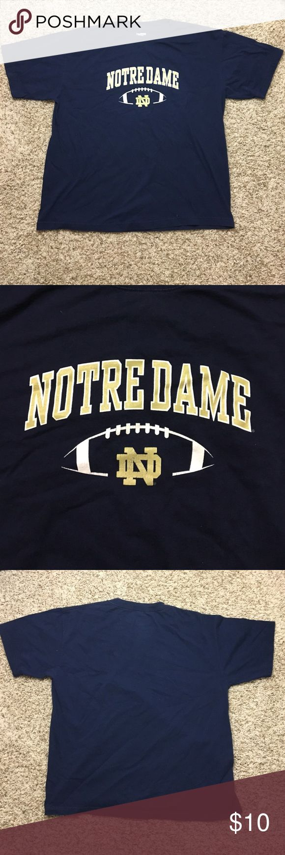 Notre Dame T Shirt Great condition shirt Tops Tees - Short Sleeve