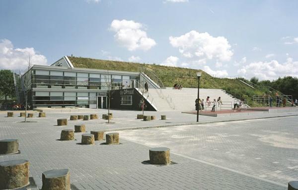 De Opmaat extended school, Arnhem, Netherlands - Herman Herzberger