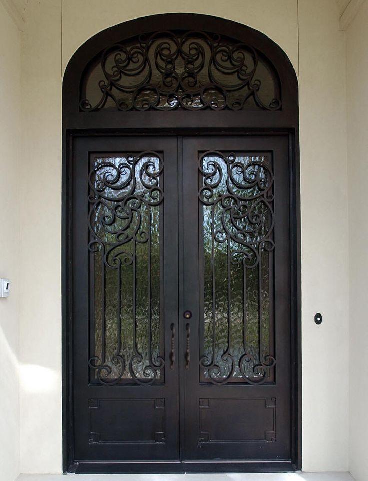 Best Home Decor Wrought Iron Doors Images On Pinterest - Wrought iron front door