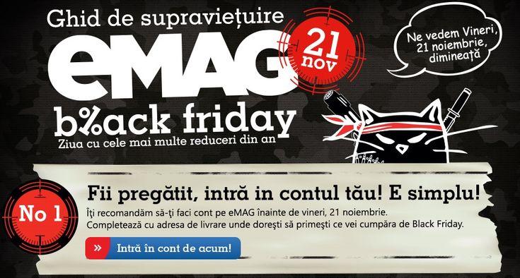 eMAG dezvăluie noi informații din culisele celui mai mare eveniment de Black Friday (Video) http://mbls.ro/1tdN2Ka