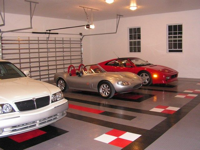 21 Best Cool Garages And Garage Floors Images On Pinterest