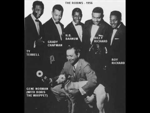 """*""""Smokey Joe's Cafe"""" by the Robins. (shortly after became the Coasters)  R~ 1955"""